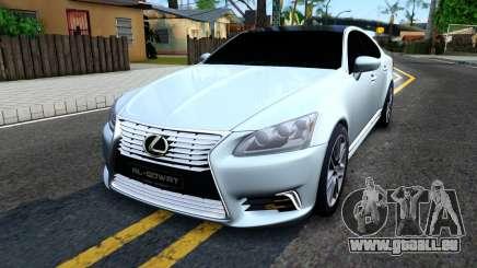 Lexus LS XF40 pour GTA San Andreas