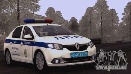 Renault Logan ÜBER Verkehrs-Polizei für GTA San Andreas