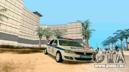 Renault Logan trafic pour GTA San Andreas
