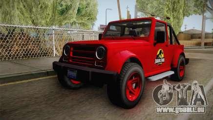 GTA 5 Canis Mesa Jurassic Park für GTA San Andreas