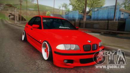 BMW 3 Series E46 Sedan pour GTA San Andreas