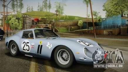 Ferrari 250 GTO (Series I) 1962 IVF PJ2 für GTA San Andreas