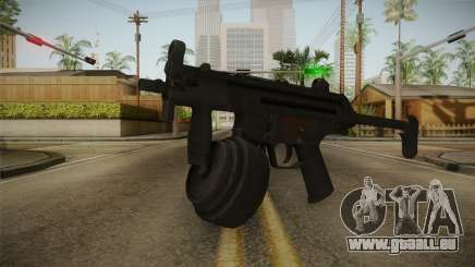 MP-5K Drum Mags pour GTA San Andreas