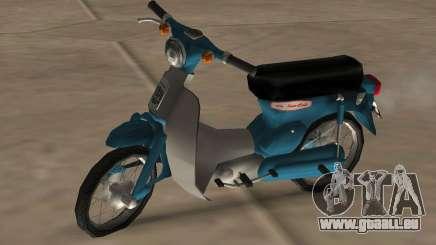 Honda Super Cub Modifié pour GTA San Andreas