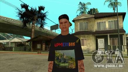 Skin VLA-1 Armenian V4 pour GTA San Andreas