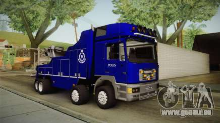 MAN F2000 Tow Truck PDRM pour GTA San Andreas