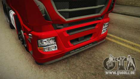 Iveco Stralis Hi-Way 560 E6 6x4 v3.1 für GTA San Andreas Seitenansicht