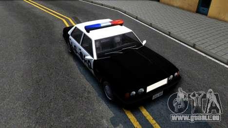 Vincent Cop pour GTA San Andreas vue de droite
