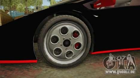 GTA 5 Pegassi Infernus Classic IVF für GTA San Andreas Rückansicht