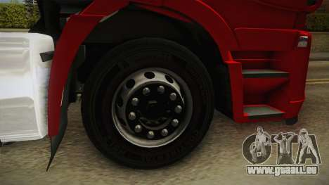Iveco Stralis Hi-Way 560 E6 6x4 v3.1 für GTA San Andreas Rückansicht