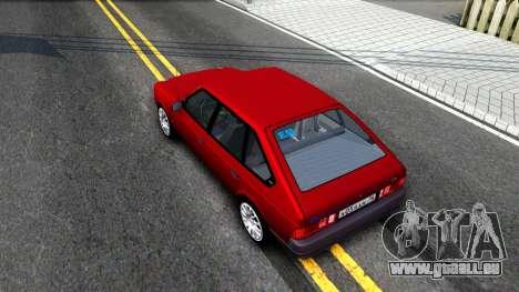 AZLK 2141 pour GTA San Andreas vue arrière