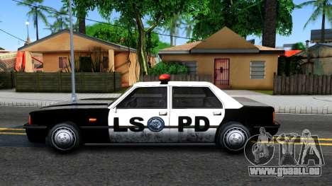 Vincent Cop pour GTA San Andreas laissé vue