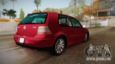 Volkswagen Golf GTI für GTA San Andreas linke Ansicht