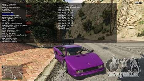 GTA 5 Simple Trainer 5.2 deuxième capture d'écran