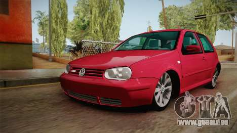 Volkswagen Golf GTI für GTA San Andreas rechten Ansicht