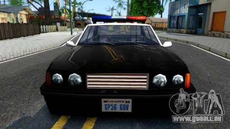 Vincent Cop pour GTA San Andreas vue intérieure