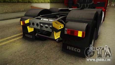 Iveco Stralis Hi-Way 560 E6 6x4 v3.1 für GTA San Andreas Innen