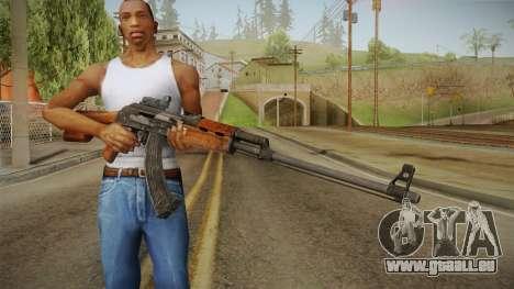 Battlefield 4 - RPK-74M für GTA San Andreas dritten Screenshot