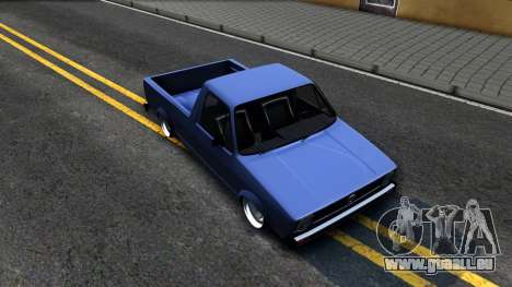 Volkswagen Caddy 1980 pour GTA San Andreas vue de droite