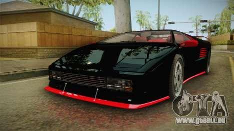 GTA 5 Pegassi Infernus Classic IVF für GTA San Andreas