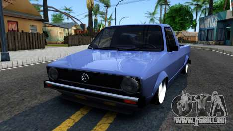 Volkswagen Caddy 1980 pour GTA San Andreas
