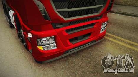 Iveco Stralis Hi-Way 560 E6 6x4 v3.1 für GTA San Andreas obere Ansicht