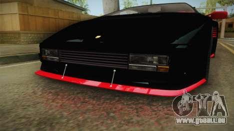 GTA 5 Pegassi Infernus Classic IVF für GTA San Andreas Innenansicht