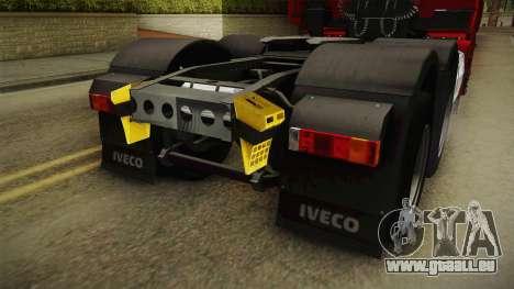 Iveco Stralis Hi-Way 560 E6 6x4 v3.1 für GTA San Andreas Unteransicht