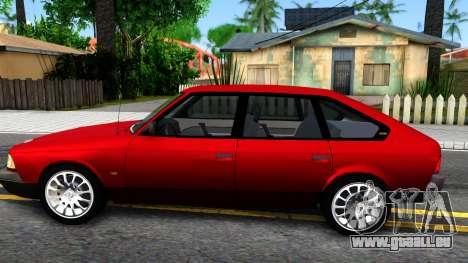 AZLK 2141 pour GTA San Andreas laissé vue