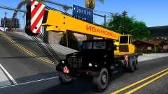 KrAZ-257 Camion-Grue