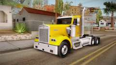Kenworth W900 ATS 6x2 Middit Cab Low pour GTA San Andreas