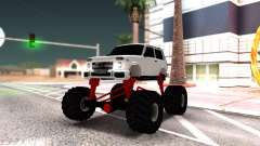 Vaz 2121 Monster Armenian pour GTA San Andreas