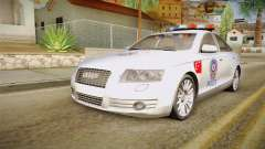 Audi A6 Turkish Police pour GTA San Andreas