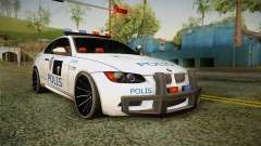 BMW M3 Turkish Police pour GTA San Andreas