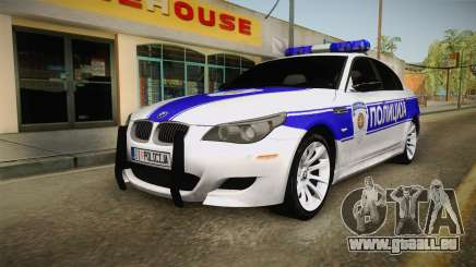 BMW M5 e60 Police für GTA San Andreas
