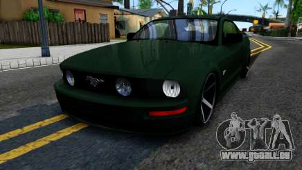 Ford Mustang GT 2009 pour GTA San Andreas