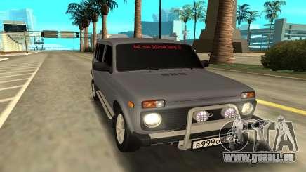 Lada Niva 2131 pour GTA San Andreas