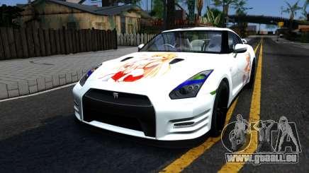 Nissan GT-R R35 - Sword Art Online pour GTA San Andreas