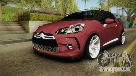 Citroen DS3 pour GTA San Andreas