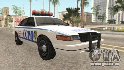 GTA 4 Police Stanier für GTA San Andreas