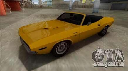 Dodge Challenger Cabrio für GTA San Andreas