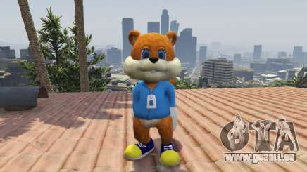 Conker The Squirrel für GTA 5