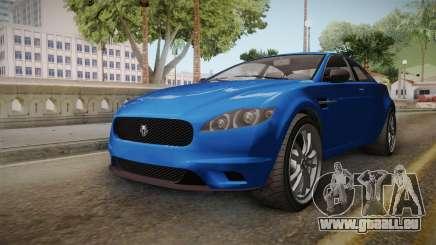 GTA 5 Ocelot Jackal 2-doors IVF für GTA San Andreas