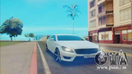 Mercedes-Benz Cls63 AMG für GTA San Andreas