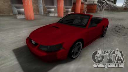1999 Ford Mustang Cabrio pour GTA San Andreas
