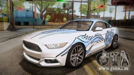 Ford Mustang GT 2015 5.0 PJ pour GTA San Andreas