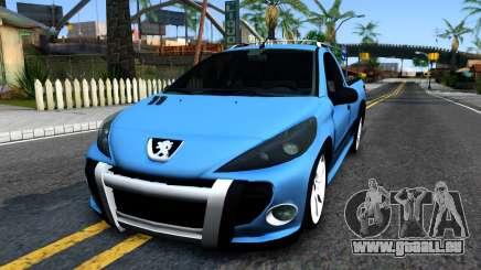 Peugeot Hoggar pour GTA San Andreas