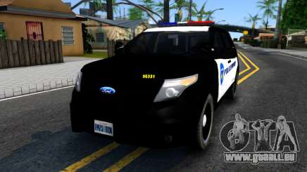 Ford Explorer Police pour GTA San Andreas