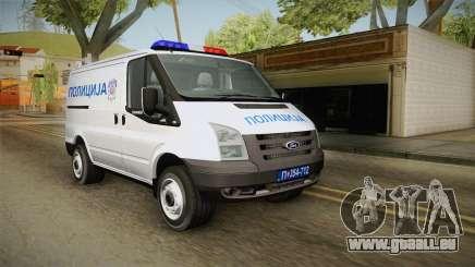 Ford Transit Polizei für GTA San Andreas