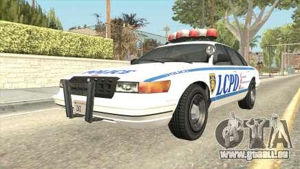 GTA 4 Police Stanier SA Style pour GTA San Andreas